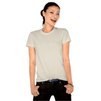 T-shirt organique de coton de chat frais