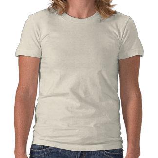 T-shirt organique de dames de ~ de l'automne de Vi