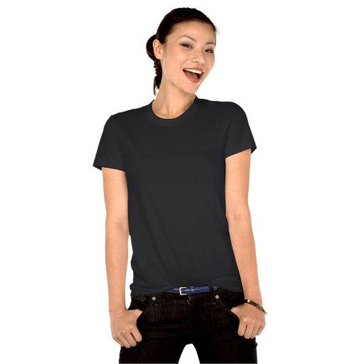 T-shirt organique de New York des femmes de