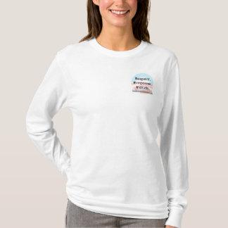 T-shirt Organisation pour la chemise blanche du LS des
