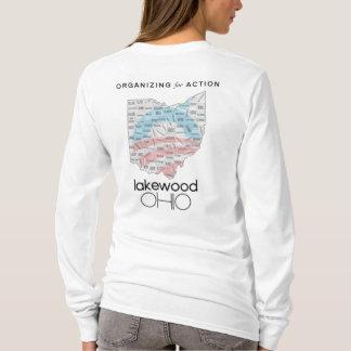 T-shirt Organisation pour la chemise du LS des femmes