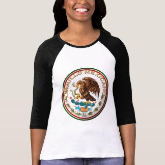 T-shirt Orgullo Mexicano (Eagle de drapeau mexicain)