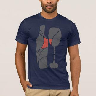 T-shirt orienté de vin