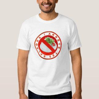 "T-shirt Original ""Arrête tes salades"" Kiki Design"