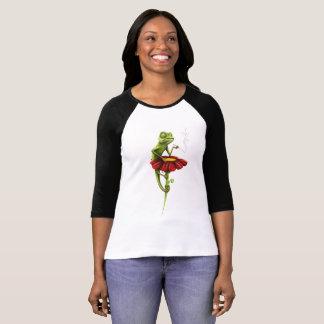 T-shirt Original, coloré, chemise d'impression de caméléon