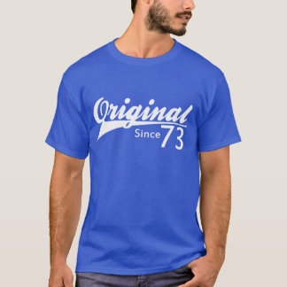 T-shirt Original puisque le base-ball 73 a inspiré la
