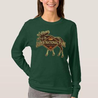 T-shirt Orignaux de parc national de jaspe
