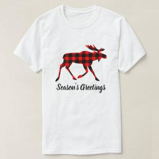 T-shirt Orignaux de plaid de Buffalo votre couleur