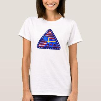 T-shirt Orignaux Suédois-Américains