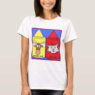 T-shirt Orignaux-tard et ketchup