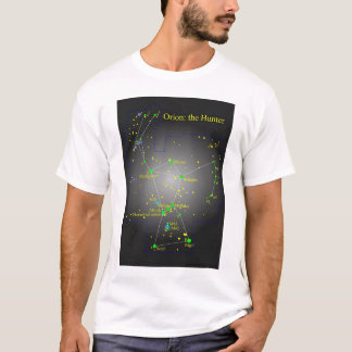 T-shirt Orion la constellation de chasseur