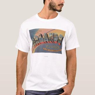 T-shirt Orlando, la Floride - grandes scènes 2 de lettre