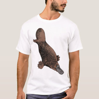 T-shirt Ornithorynque