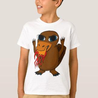 T-shirt Ornithorynque de respiration du feu