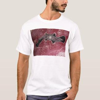 T-shirt Ornithorynque rêvant le rouge par Mundara Koorang