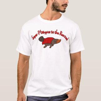 T-shirt Ornithorynque superbe