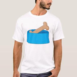 T-shirt Os de chien dans la cuvette