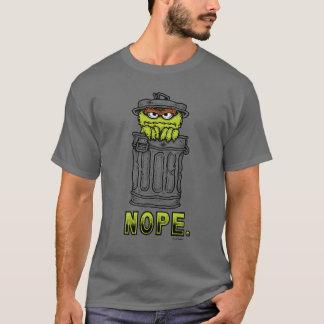 T-shirt Oscar le rouspéteur - Nope.