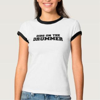 T-shirt OSSELETS sur le batteur