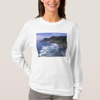 T-shirt OU, côte de l'Orégon, phare principal de Heceta,