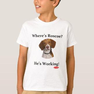 T-shirt Où est Roscoe ?
