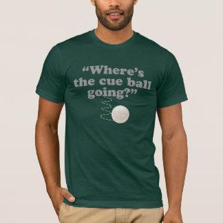 T-shirt Où la boule de réplique va ?