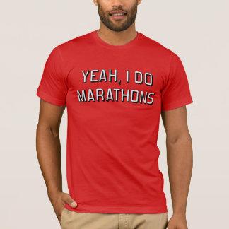 T-shirt Ouais, je fais des marathons