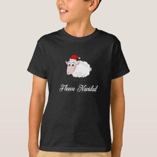 T-shirt Ouatine Navidad de moutons de bande dessinée