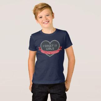 T-shirt Oubliez que ce maman de filles est mon Valentine