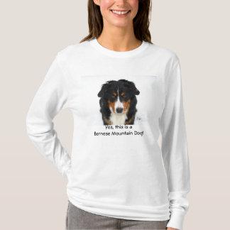 T-shirt Oui, c'est un chien de montagne de Bernese !