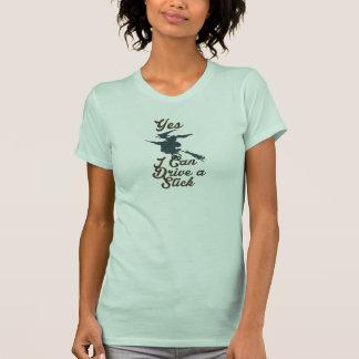 T-shirt Oui je peux conduire une conception drôle de