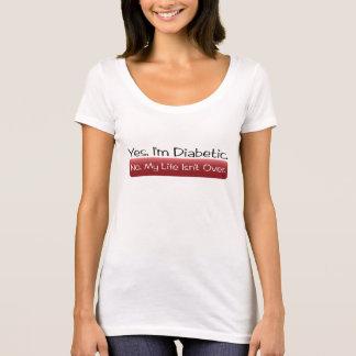 T-shirt Oui, je suis diabétique