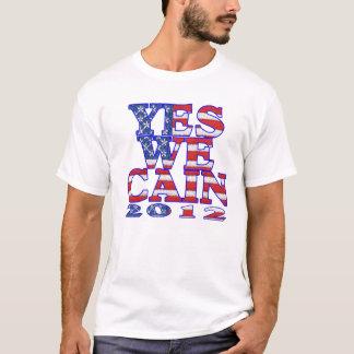 T-shirt oui nous drapeau de Caïn
