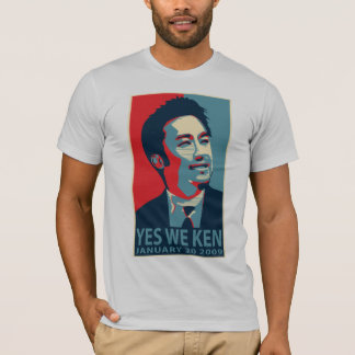 T-shirt Oui nous Ken (Obama)