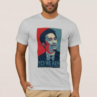 T-shirt Oui nous Ken (Obama) - customisé