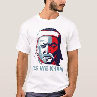 T-shirt Oui nous Khan (lumière)