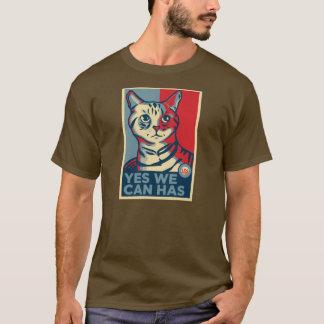 T-shirt Oui nous pouvons a