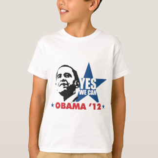 T-shirt oui nous pouvons obama 12