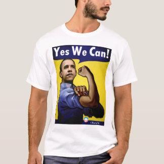 T-shirt Oui nous pouvons ! T