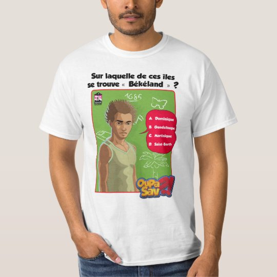"T-Shirt OuPaSav ""Békéland"""
