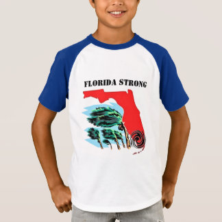 T-shirt Ouragan Irma la Floride forte