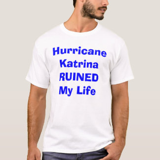 T-shirt Ouragan Katrina
