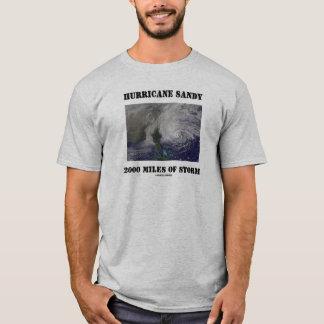 T-shirt Ouragan Sandy 2000 milles de tempête