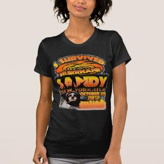 T-shirt Ouragan Sandy, New York City