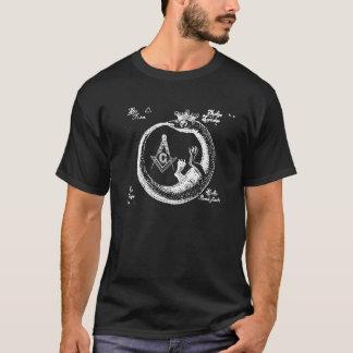 T-shirt Ouroboros maçonnique
