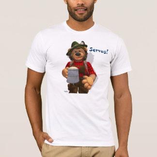 T-shirt Ours bavarois d'Oktoberfest de petits ours