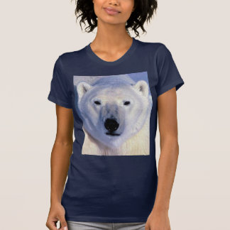 T-shirt Ours blanc