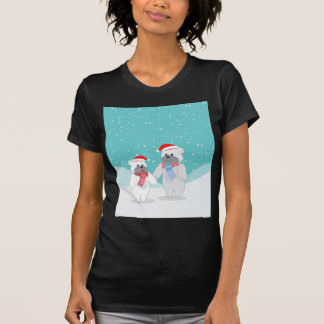 T-shirt ours blanc B