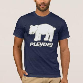 T-shirt Ours blanc de Pleydey