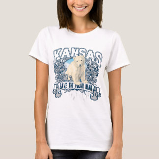 T-shirt Ours blanc le Kansas